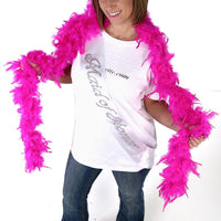 Feather Boa - Hot Pink - Looks Great!