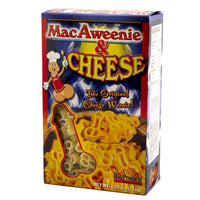 Mac-A-Weenie And Cheese Box Front