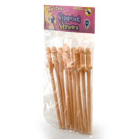 10 Penis Straws in Package