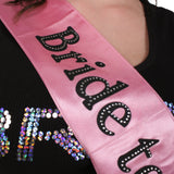 Bride to Be Sash - Pale Pink