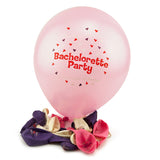Pink and Purple Bachelorette Party Balloons - Pink Balloon