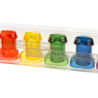 Rainbow Penis Shot Glasses - Set of Six