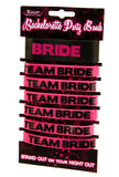 Team Bride Party Wristbands - Stand Out on Your Night Out