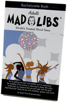 Bachelorette Mad Libs - A Fun Bachelorette Party Game