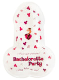 Small Bachelorette Party Candy Trays Front View