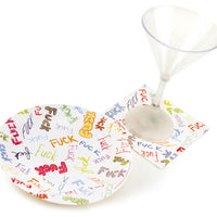 Dirty Plates - Shown with Napkin and Martini Glass