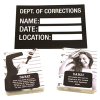 Bachelorette Party Mug Shots Game - Sample Cards