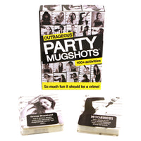 Bachelorette Party Mug Shots Game - Cards With Box
