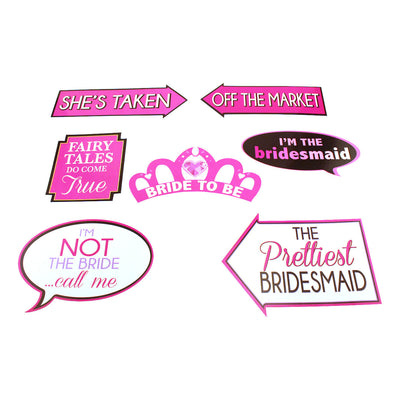 Bachelorette Party Photo Props