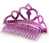 Mini Tiara Combs - Clips Into Hair