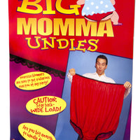 Big Momma Undies Packaging