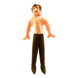 Inflatable Hunk Doll - 20 Inches Tall Inflated
