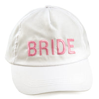 Bride Baseball Cap - Front View