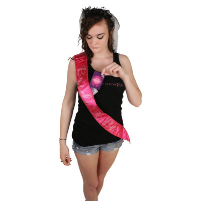 Bride to Be Sash - With Zany Dares - Clearance!