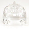 Bride To Be Gem Tiara Rear View