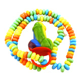 Rainbow Pecker Candy Necklace - Colorful and Tasty