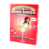 Drink & Dare Bride Bingo - A Game For a House Party or the Bar