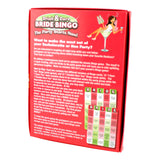 Drink & Dare Bride Bingo - Rear of Box