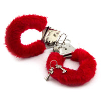 Furry Handcuffs - Hand Cuffs With A Little Fur