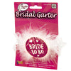 Glitter Bride to Be Garter Packaging