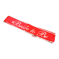 Glow in the Dark Bride to Be Sash