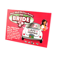 Prove How Well You Know the Bride with This Trivia Game