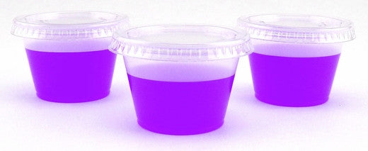 Jello Shot Cups with Lids - 25 sets