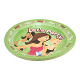 Let's Party Plates - Great for Dinner or Dessert
