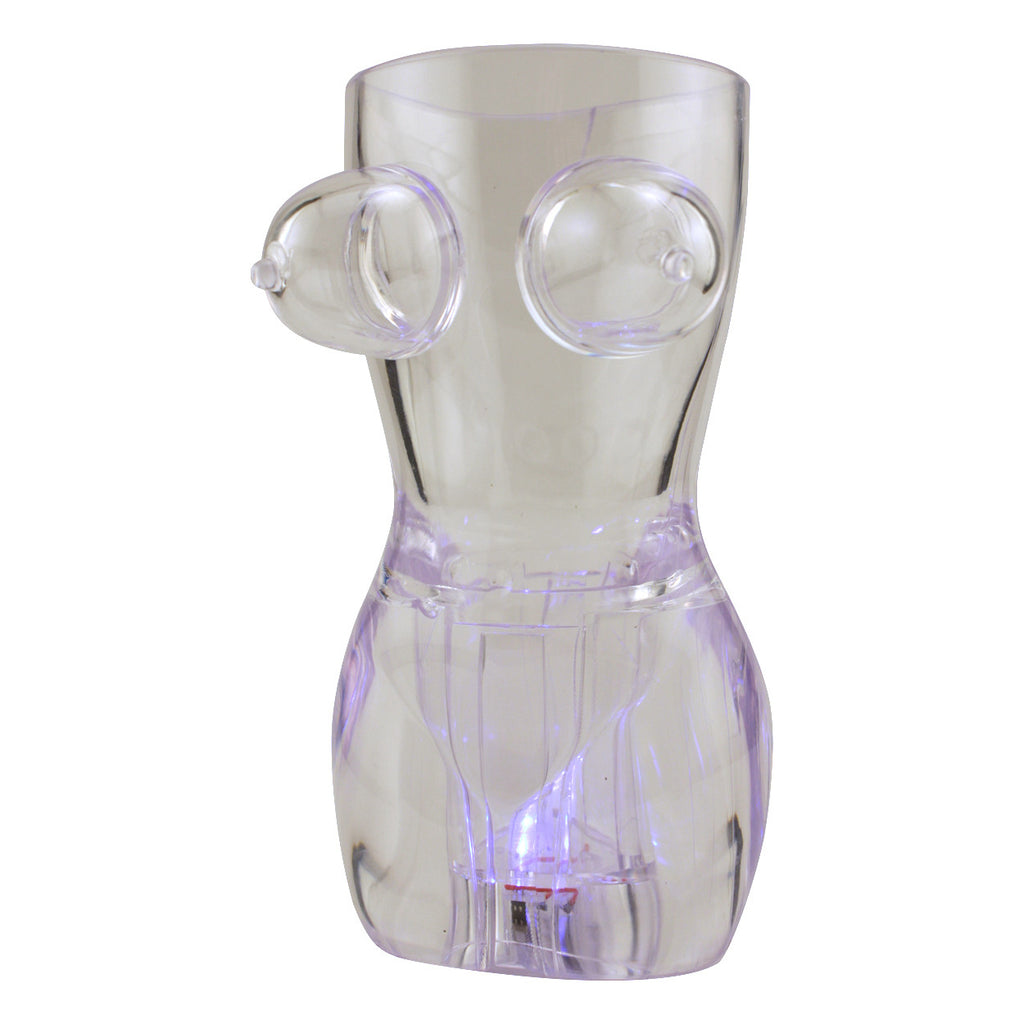 Light-Up Boobie Glass