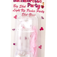 Light-Up Penis Shot Glass Necklace in Package