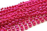 Pink Beads - Bright Hot Pink
