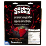 Edible Crotchless Gummy Underwear for Him Ingredients