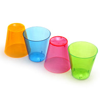 Neon Plastic Shot Cups - 2 oz. - Perfect Size for Shots
