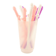 Pastel Penis Party Straws - 10