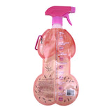 Pecker Party Squirt Bottle - Rear View