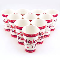 Pink and Purple Penis Cups - Ten per Pack