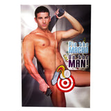 Pin The Macho On The Man Game - The Man Poster