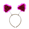Bride to Be Triangle Boppers - Pink and Black