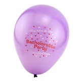 Pink and Purple Bachelorette Party Balloons - Purple Balloon