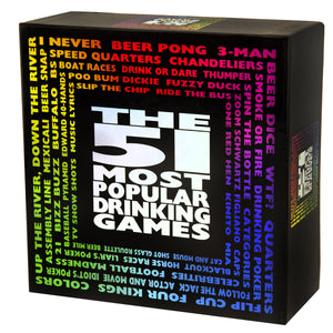 The 51 Most Popular Drinking Games