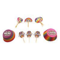 Pride Party Cupcake Set