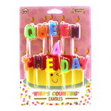 Queen 4 The Day Candles