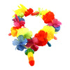 Rainbow Light-Up Pecker Flower Necklace