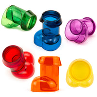 Rainbow Penis Shot Glasses - Bright and Bold Colors