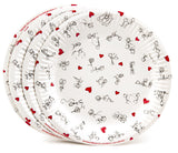 Dirty Dishes Sex Position Plates - Eight per Pack