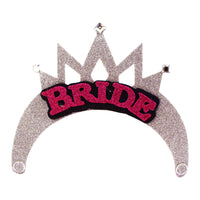 Bride-to-Be Party Tiara Set - Bride Tiara