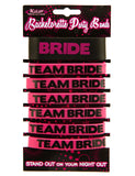 Team Bride Party Wristbands - Seven Wristbands