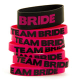Team Bride Party Wristbands - Bride and Team Bride