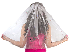 The Little Bit Naughty Veil