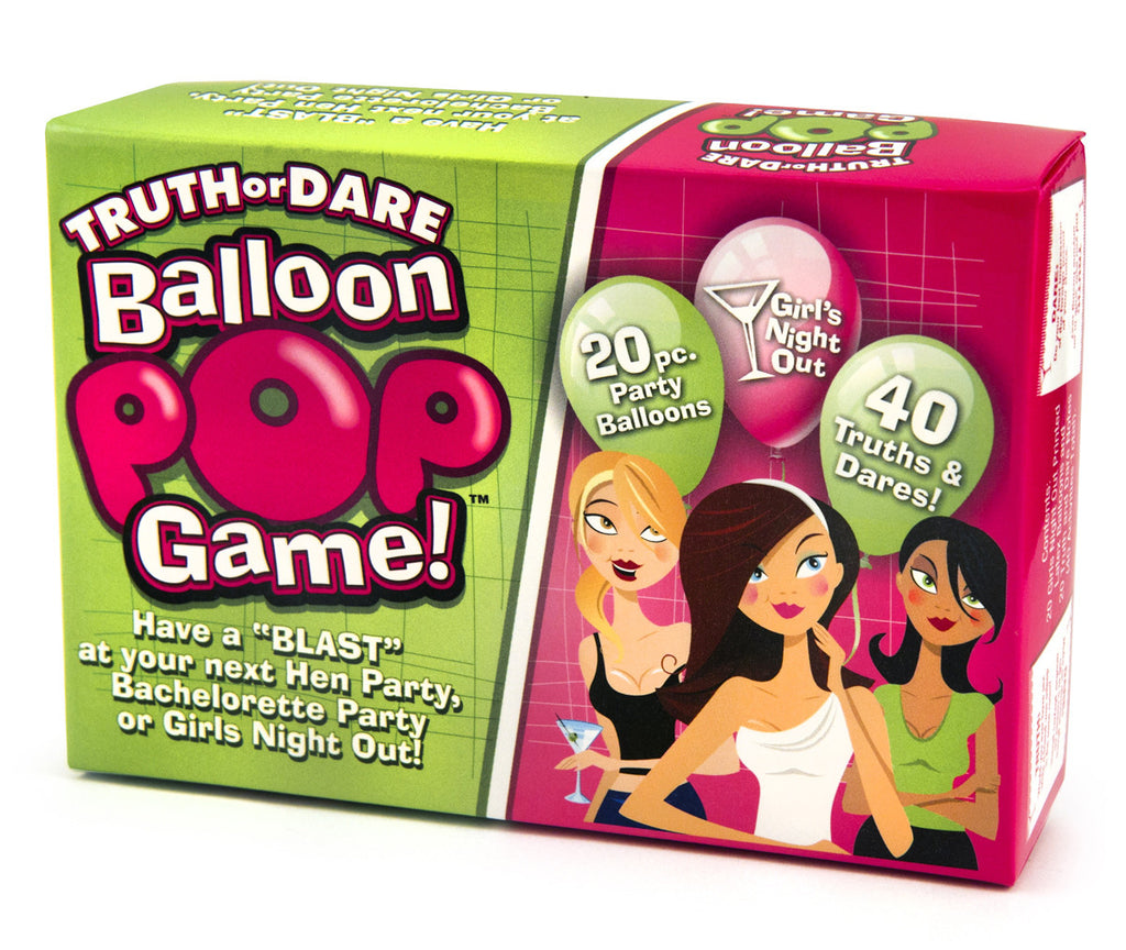 Pop The Decorative Balloon & Get a Dare - A Cool New Game